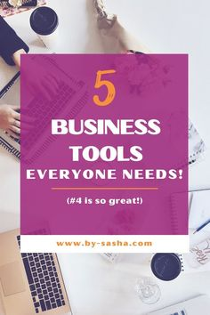 Having the right business tools are crucial to getting your business up and running in a way that works for you. Here are 5 tools that can help you stay organized and successfully manage your business! Take a look at these amazing tools every business owner should try!