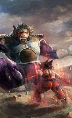 Dragon Ball Z wallpapers | Vegeta Versus Goku HD Wallpapers | www.fabuloussaver...