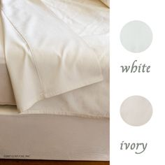 With a luxurious 300 thread count, our silky organic cotton premium bedding has a subtle sateen sheen. Woven from soft, organic cotton. Ivory is an unbleached n Bed Pillows, Organic Cotton, Pillow Cases, Ivory, Pairs, Pillows