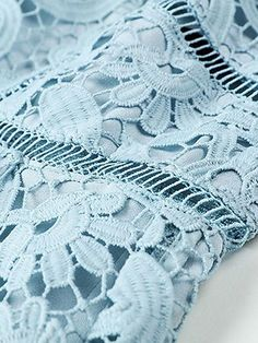 Embroidered Lace Fabric, Cutwork, Crochet Lace, Mother Of The Bride, Spaghetti, Mini, Blue, Dresses, Mother Bride