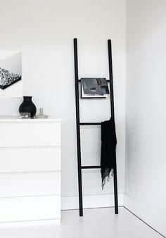 ladder DIY for the bedroom