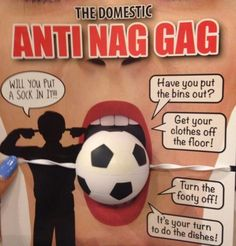 "Sexist ""ANTI-NAG GAG"" Pulled from Stores -- Thanks to One Woman by Tracey Harrington McCoy http://ift.tt/1uAdBNN"