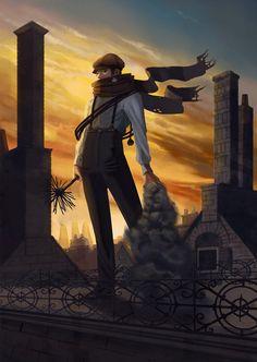 steampunk chimney sweep | Mr. Chimney Sweep by avisnocturna