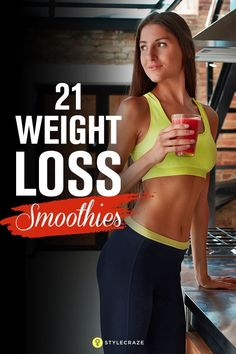 Smoothie Recipes 21 Weight Loss Smoothies With Recipes And Benefits - Want to get rid of your pot belly and thunder thighs? Or do you want to stay healthy and fit? Then, you must try out these effective weight loss smoothies. Weight Loss Meal Plan, Weight Loss Drinks, Weight Loss Smoothies, Healthy Smoothies, Best Weight Loss, Healthy Weight Loss, Smoothie Diet, Detox Smoothies, Fruit Smoothies