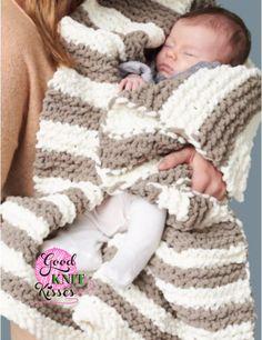 In A Wink Baby Blanket | Yarnspirations - GoodKnit Kisses