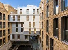 De la brique et du métal pour un immeuble social de l'éco-quartier Boucicaut