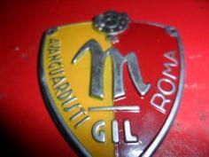 Scudetto metallo GIL sez. roma