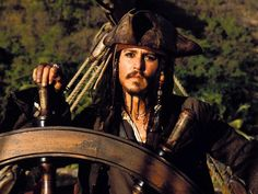 """Which Johnny Depp character is your true love?Jack Sparrow (from the """"Pirates of the Caribbean"""" movies) is your true love! He is a magnificent pirate ship captain, he's full of schemes and secrets, he loves rum, and he will surely commandeer your heart!"""