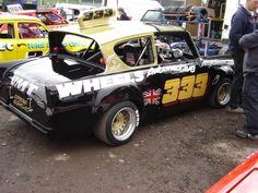Ford Anglia historic Hot Rod race car