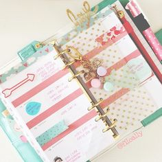 I really like the colour scheme and simplicity of this filofax/ Erin Condran life planner