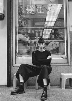 Comme des Garcons Ester Sweater With Lace (Black)
