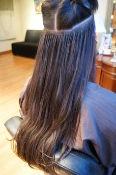 Shrink links hair extensions by lauren mae haggard hair hair extension placement google search pmusecretfo Images