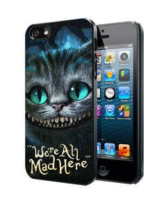 Alice In Wonderland Were All Mad Here Samsung Galaxy S3 S4 S5 Note 3 case, iPhone 4 4S 5 5s 5c case, iPod Touch 4 5 case