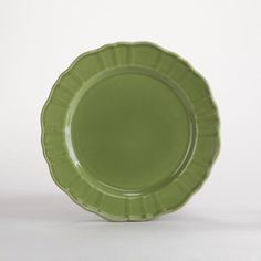 One of my favorite discoveries at WorldMarket.com: Verde Salad Plates, Set of 4