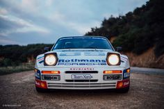 The lesser-known factory-prepped front-engined Turbo Porsche is a paragon of racing. Porsche 924, Rally Car, Preserves, Dream Cars, Racing, Wheels, Collection, Cars, Running