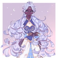 Allura the beautiful Princess of Altea from Voltron Legendary Defender Black Anime Characters, Cute Characters, Fantasy Characters, Form Voltron, Voltron Klance, Voltron Memes, Character Inspiration, Character Art, Character Design