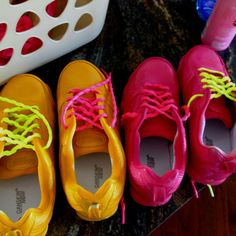 These neon gym shoes from Saucony, New Balance, Nike, and Asics will make you want to work out