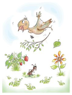 My Honeyland Whimsical Children's Books Illustrations. Imagination and Confidence Boosting Watercolour Art Classes. Book Illustration, Illustrations, Teaching Style, Childrens Books, Watercolor Art, Whimsical, Children's Books, Children Books, Watercolor Painting