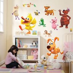Word World Giant Wall Decals.