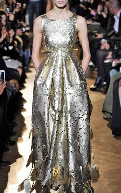 Giles Laser-Cut Leather Gown      ᘡղbᘠ