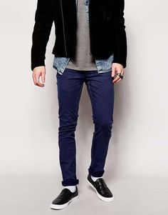 Cheap Monday | Tight Skinny Fit AM Light Indigo #cheapmonday #jeans