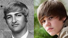 Peas from the same pod: Bob Katter alleges that Justin Bieber stole his haircut Source: news.com.au