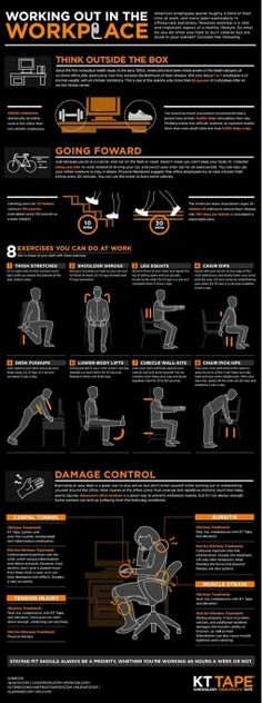 Office Ergonomics, You can be healthy ever if you sit at a computer.