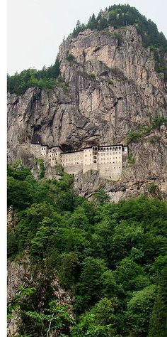 Sümela, or the Monastery of the Virgin Mary, has had some sort of Christian structure on its grounds from nearly the moment the religion came to what is now northeastern Turkey
