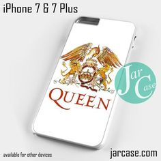 Queen logo Phone case for iPhone 7 and 7 Plus