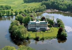 Swedish Castles and manors.  Many have been turned into hotels.    This is Häckeberga castle.