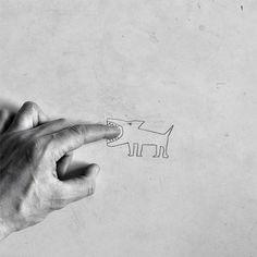 Idée d'animation : faire un dessin et mettre en scène en photo