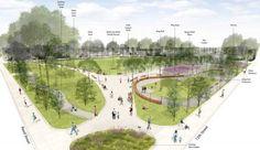 park entrance design - Google Search