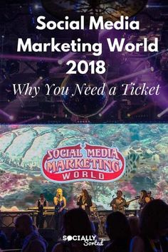 Do you have your ticket to Social Media Marketing World 2018? It's not too late to take advantage of discounted pricing and attend the world's biggest social media event!