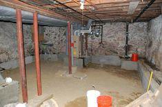 4 Outstanding Hacks: Old Basement Remodel basement built ins.Finished Basement B… Low Ceiling Basement, Damp Basement, Old Basement, Basement Remodel Diy, Man Cave Basement, Basement Windows, Basement House, Basement Makeover, Basement Plans