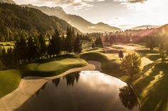 Golfplätze und Golfhotels - Austria-Golf - Golfurlaub Golf Kombi, Zell Am See, Beste Hotels, Austria, Golf Courses, Water, Outdoor, Playing Games, Horseback Riding
