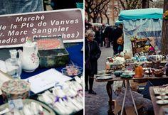 antique shopping in Paris; Marche aux Puces