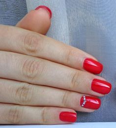 Гель-лак Ibd Just Gel Polish Lucky Red