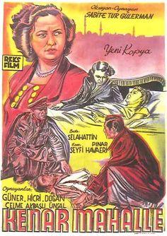 Türk Nostalji - Fotogaleri - Kenar Mahalle (1951) filminin afişi