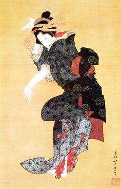 Japan, by Katsushika Hokusai Japanese Drawings, Japanese Artwork, Japanese Prints, Japan Illustration, Botanical Illustration, Arte Ninja, Art Occidental, Art Chinois, Geisha Art