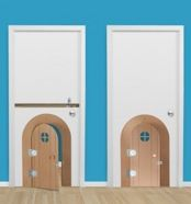 Turn Any Door Into a Secret Passageway on http://www.alistmom.com/2012/07/27/turn-any-door-into-a-secret-passageway/