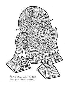 6 Best Images of Star Wars Mazes Printable - Star Wars Mazes Printable Free, Kids Star Wars Maze and Star Wars Printable Maze Worksheets Printable Mazes, Printable Star, Printables, Classroom Activities, Activities For Kids, Hard Mazes, Star Wars Party Games, Maze Worksheet, Maze Design