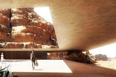 Wadi Rum Resort: Luxury Eco Lodge Built Right Into The Desert Cliffs
