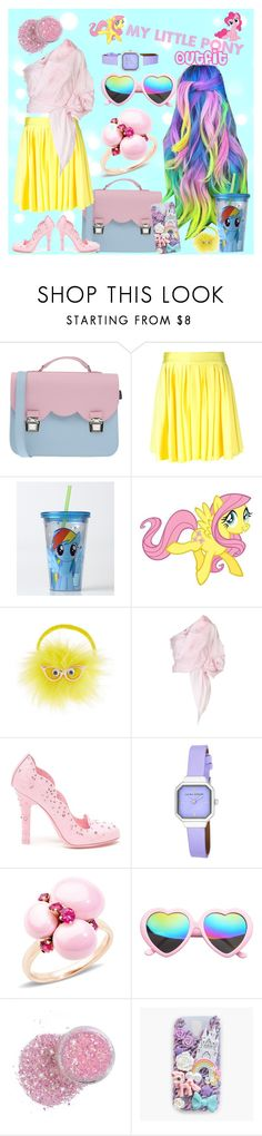 """My Little Pony"" by dollycarlsson ❤ liked on Polyvore featuring La Cartella, FAUSTO PUGLISI, My Little Pony, York Wallcoverings, Monsoon, Johanna Ortiz, Dolce&Gabbana, Laura Ashley, Pomellato and cutekawaii"