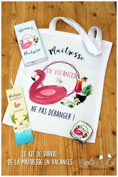 Kit de survie de la maîtresse en vacances  : Autres sacs par bebooandco