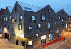Yearbook 2015 nai010 architecture in the Netherlands on DAFNE.com - Van Dongen Koschuch Grenswerk pop centre Venlo