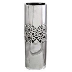 Tischvase Machelle Brambly Cottage Größe: 36 cm H x 12 cm B x 12 cm T Large Floor Vase, Tall Floor Vases, Mosaic Vase, Mosaic Diy, Tall Glass Vases, Contemporary Vases, Exotic Art, Dried Flower Arrangements, Ceramic Table