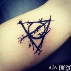 deathly hallows tattoo by AvaThornTattoos on DeviantArt                                                                                                                                                                                 More
