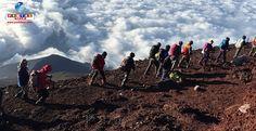 Veja o relato de um grupo de brasileiros que escalou o Monte Fuji, e fincou a bandeira do Brasil no topo. Vamos trocar experiências?