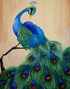 Peacock Painting  - Peacock Fine Art Print