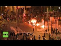 Greece Protests Live Stream: Athens Sees Violent Demonstrations As Greek Parliament Votes on Debt Crisis Deal